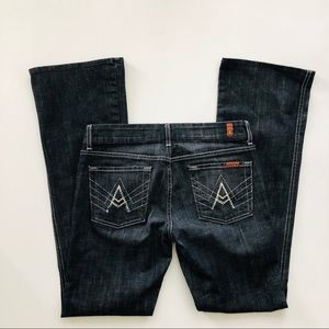 7 For All Mankind Rhinestone A Pocket